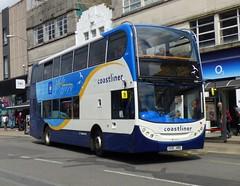 Stagecoach South 15593 (GX10 HBB) Brighton 12/7/17 (jmupton2000) Tags: coastliner 700 400 scania gx10hbb alexander dennis enviro stagecoach south uk bus worthing sussex