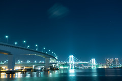 RXV00275 (Zengame) Tags: ariake rx rx100 rx100v rx100m5 rx100mk5 sony zeiss architecture bridge japan landmark night rainbowbridge tokyo tokyobay ソニー ツアイス レインボーブリッジ 夜 日本 有明 有明北緑道公園 東京 東京湾 橋 江東区 東京都 jp
