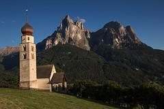 St. Valentin Church (Hana Deka) Tags: dolomiten schlern stvalentin church italien italy