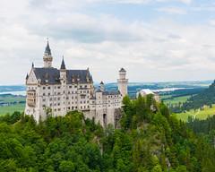 Fairy Tale... (ragtops2000) Tags: neuschwansteincastle popular germany bavaria kingscastle kingludwigii marysbridge fairytale alpine turrets scenic colorful summer green water romantic waltdisney inspired