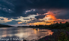 Storm Brewing 2 (George O Mahony) Tags: sunset river suir sky water breathtakinglandscapes
