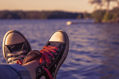 (donna leitch) Tags: converse leisure allstars lake summer