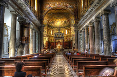 Basilique Sainte-Marie-du-Trastevere, Rome (CloudPhotoz) Tags: basilique église church marie trastevere rome roma catholique ancien ancient old vieux