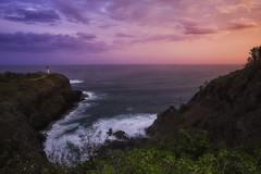 Kauai (3dRabbit) Tags: kauai hawaii lighthouse morning color light ocean pacific foreground cliff wave magic sungjinahn canon wideangle