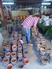 Ubon Ratchathani - Thailand (jcbkk1956) Tags: ubonratchathani thailand market hardware pottery pokpok samsung wb100 girl yhai thai worldtrekker