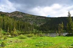 Crater Lakes Trail (Shannon L. Castor) Tags: craterlakestrail jamespeakwilderness rooseveltnationalforest lake landscape nature summer july hiking trail