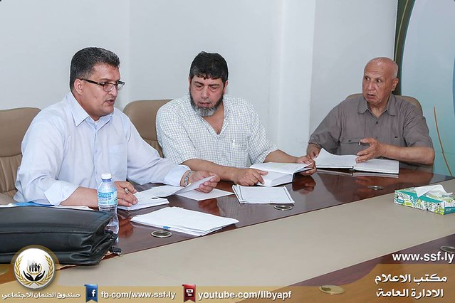 اجتماع اللجنة الفنية القانونية التابعة لادارة التقاعد العسكري