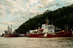 IMG_2861-1 (langdon10) Tags: canada canon70d coastguard marthalblack oldquebec pierreradisson quebec ship shoreline stlawrenceriver clouds nautical outdoors