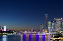 fullsizeoutput_5d6 (rickyv91) Tags: brisbane southbank lights dusk city river