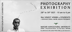 photography exhibition 2017 (nevil zaveri (thank you for 15 million+ views)) Tags: zaveri india birds animals photography photographer images photos nature blog wilderness stockimages photograph photographs gujarat gujrat course study agricultural college curricullum eru navsari placard banner advertisement nevil nau poster nevilzaveri stock photo 201718 admission students education vineetvohra exhibition