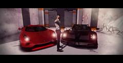 Do yoυ ғeel Lυcĸy, Pυnĸ?! (мarveloυѕ creaтιonѕ) Tags: second life game badass punk gangster deadwool brand bad unicorn backdrop cars fancy sc dirty harry movie scene gun