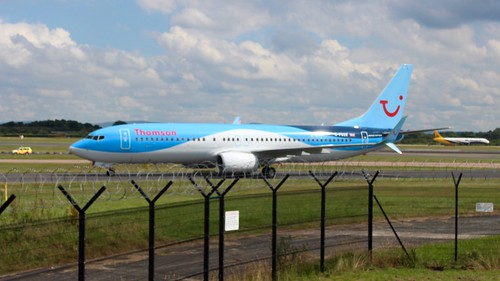 Thomson airplane