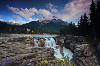 Athabasca Falls & Mount Kerkeslin