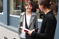 Unterstützungserklärungen Leopoldstadt 03 (KPÖ PLUS) Tags: 2017 nationalratswahl kpöplus kpö politik aktion wien leopoldstadt unterstützungserklärungen
