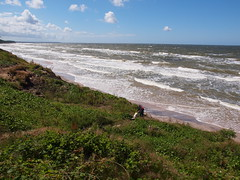 Einsamer Ostseestrand bei Poddabie (reuas ogni) Tags: ostsee baltic sea meer see strand himmel sky olympus zuiko isoz natur nature landschaft landscape seascape