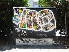 (gordon gekkoh) Tags: gun ftl oakland graffiti