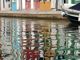 Reflection of Burano EXPLORED!