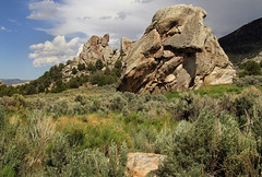 Granitic (arbyreed) Tags: arbyreed rocks granite granitic cityofrocks cassiacountyidaho graniticbornhardts bigrocks boulders geology idahogeology