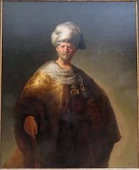 Man Oriental Costume, by Rembrandt (Roamer61) Tags: painting rembrandt man costume oriental dutch goldenage 1600s met nyc museum