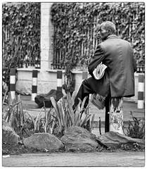 The newspaperman (johann walter bantz) Tags: capture everywhere everyday documentary documentaire social blackandwhite monochrome streetphotagraphy street afrique afrika kenia