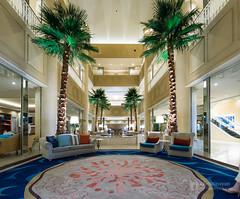 Lobby space of Kobe Meriken Park Oriental Hotel (神戸メリケンパークオリエンタルホテル) (christinayan01) Tags: hotel architecture building night indoor lobby space kobe japan interior
