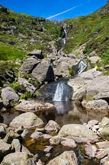 Mahon Falls (WonsBroda) Tags: waterfall wodospad river rocks ireland blue sky nikon montain góry polariser hoya