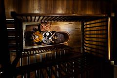 (24/365) Cafe Spiral (thatmattrogers1) Tags: leeds cafe spiral wood warmtones perspective