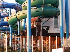 Fun park at dusk (Lesley A Butler) Tags: adelaide australia autumn glenelg sa