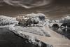Roma - Tiber Island - Infrared (gporada) Tags: leadingline infrared nikond40 d40 tiberisland tiberriver italy rome isolatiberina