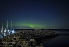 Aurora Borealis/Northern Lights - Sidney, BC (Freshairphotography) Tags: northernlights auroraborealis aurora nightlights mothernature amazing sidney sidneybc coast peaceful serene quiet