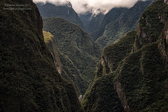 Tucked In (Dwood Photography) Tags: tucked in tuckedin peru dwoodphotography dwoodphotographycom landscape cloud mountains cloudmountains green aguas calientes aguascalientes machu picchu pueblo machupicchupueblo town machupicchutown