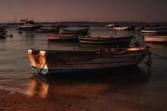 Boats... (hobbit68) Tags: boote boats wasser water sunset sonnenuntergang spain spanien espana