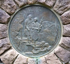 Memorial to the Blind Piper (Traigh Mhor) Tags: 2017 july gairloch highland rossshire scotland blind piper flowerdale iain dall