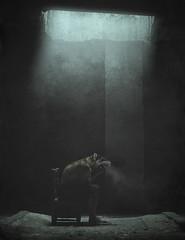 LICÁNTROPO (oroyplata.) Tags: lobo wolf animal conceptual fine art nigth noche feroz aullidos hombrelobo teewolf film pellicola magazine explorer luna fullmoon lunallena photography oscuridad