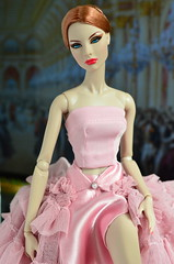 Victoire's Journey: Vienna - The Prince and the Showgirl (Dolldiva67) Tags: agnes von weiss high visibility vienna ballgown silkstone declan wake cinematicconvention ball pink integrity toys fashion royalty doll people portrait