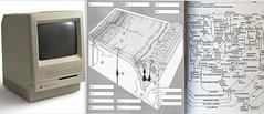When I drew by hand & Macintosh! (Xevi V) Tags: dibuixos apple macintosh macintoshse macintoshse30 isiplou todraw draw dibuixar