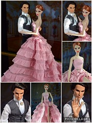 Victoire's Journey: Vienna - The Prince and the Showgirl (Dolldiva67) Tags: declan wake agnes von weiss vienna ballgown ball pink integrity toys fashion royalty doll people portrait
