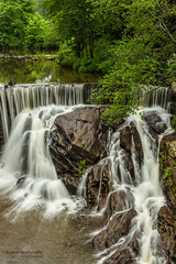 Horseshoe Falls, Terryville CT (Skyelyte) Tags: horseshoefalls water river creek stream forest woods waterscape landscape peaceful relaxing current waterfall terryvilleconnecticut newengland newenglandwaterfall slowshutter longexposure serene