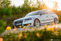 2010 Audi A4 B8 Allroad (Concker) Tags: audi a4 b8 quattro allroad norway summer car rotiform stance low lowered ccv 10x19 canon 7d 1755mm silver