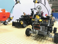 An Unscheduled Snack (willgalb) Tags: wasteland postapocalypse moc truck car minifig diorama 2017 manama bahrain stackitevents furyroad madmax lego