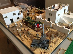 Sinai Desert Moc (vid in desc.) (Brick Lieutenant) Tags: legoww2 lego legomilitary legoww1 ww2 ww1 legobattlefield1 battlefield1
