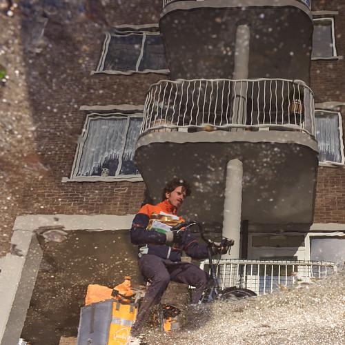 Postman Reflection, Amsterdam 2015