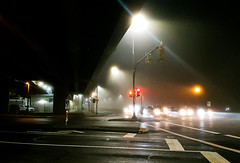Night Fog at Lougheed (MassiveKontent) Tags: night streetlights fog vancouver urban city streetphotography britishcolumbia vancity vancouverisawesome veryvancouver vancouverbc pacificnorthwest