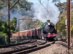 A Steam Locomotive 3642 (Eddy Summers) Tags: train steam steamtrain choochoo 1930s