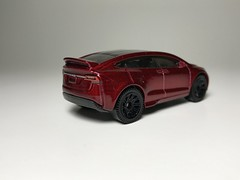 Tesla Model X (king_joe007) Tags: 164 diecast hotwheels car tesla model x custom wheelswap matchbox wheels