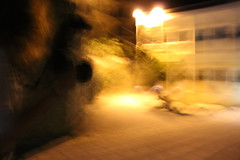 Painting (Eleni Karadagli) Tags: street photography me orange canon waves dream dreaming illusion flickr photographer painting art arte artistic night bynight colour light lights abstract