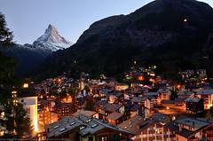 Zermatt town, Switzerland (DC's collections) Tags: zermatt switzerland matterhorn alps