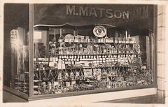 M. Matson - watchmaker (Aussie~mobs) Tags: vintage victoria australia mmatson jewller watchmaker shop store