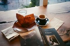 Sunday afternoon (maplenut) Tags: olympusxa kodakgold 400asa colour toronto roostercoffeehouse broadview espresso book mtrain pattismith