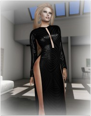 From Afar (Slightly FASHIONABLE) Tags: sl secondlife byrne caftan gown highceiling virtualfashion virtuallife